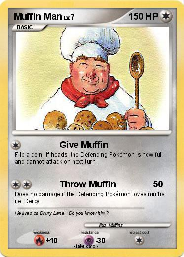 Pokemon Muffin Man