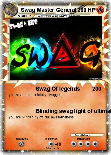 Pokemon Swag Master General