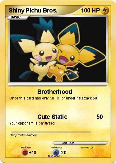 Pokemon Shiny Pichu Bros.