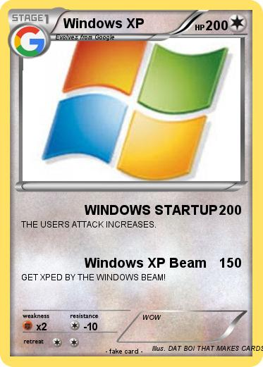 Pokemon Windows XP