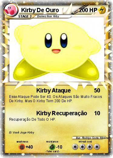 Pokemon Kirby De Ouro