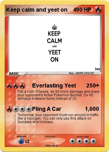Pokemon Keep calm and yeet on    4