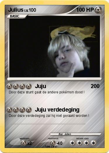 Pokemon Julius