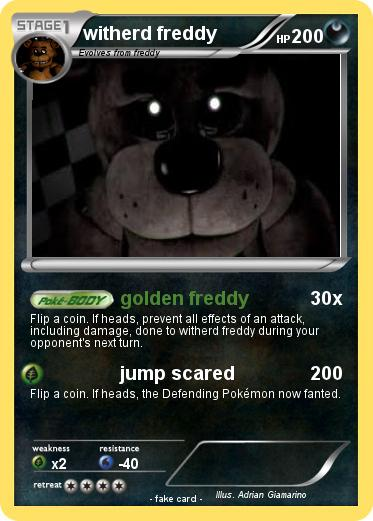 Pokemon witherd freddy