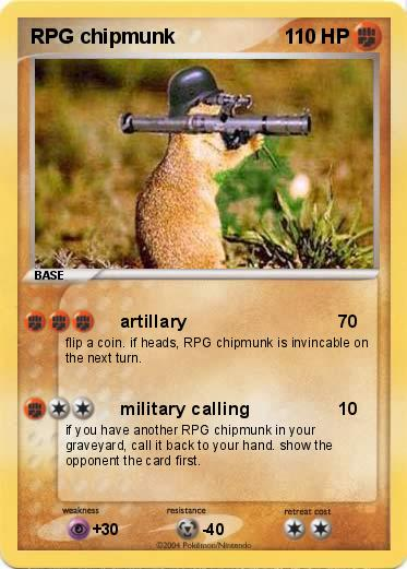Pokemon RPG chipmunk