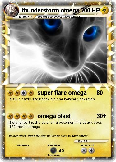 Pokemon thunderstorm omega