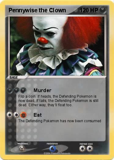 Pokemon Pennywise the Clown