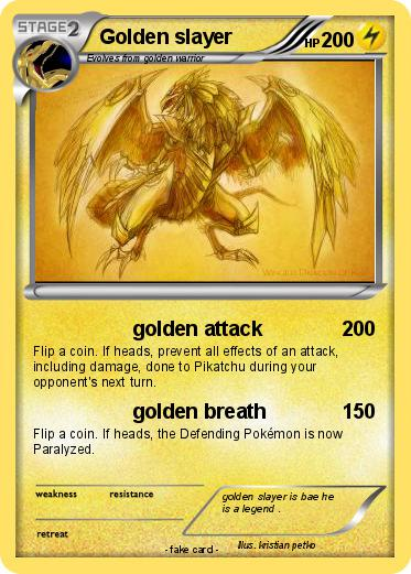 Pokemon Golden slayer