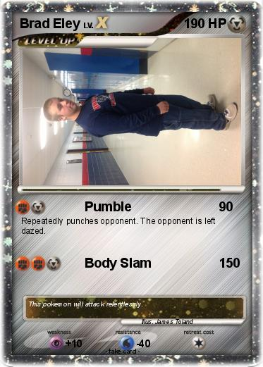 Pokemon Brad Eley