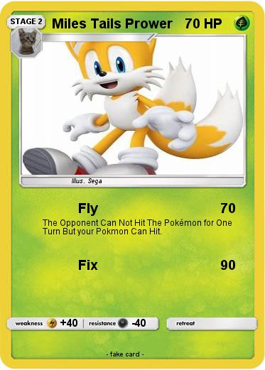 Pokemon Miles Tails Prower