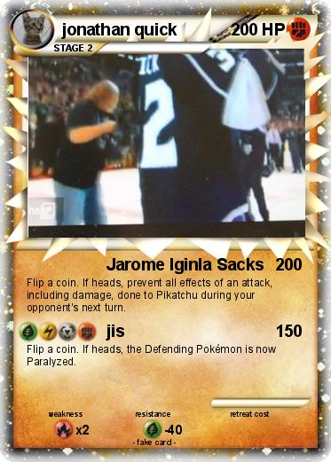 Pokemon jonathan quick