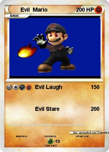 Pokemon Evil  Mario