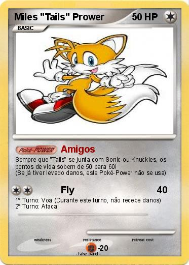 "Pokemon Miles ""Tails"" Prower"
