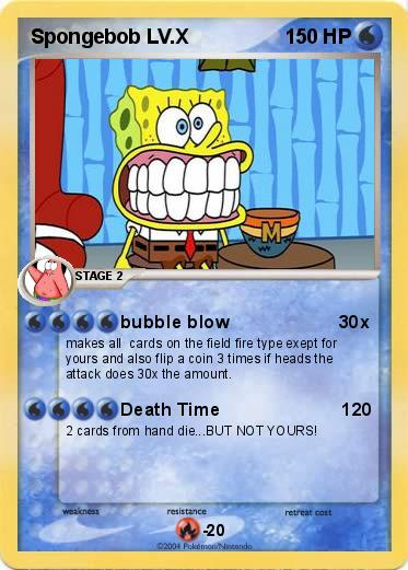 Pokemon Spongebob LV.X