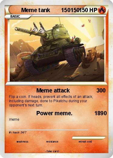 Pokemon Meme tank       150150