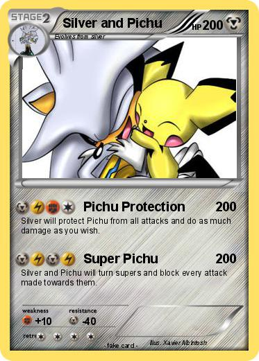 Pokemon Silver and Pichu