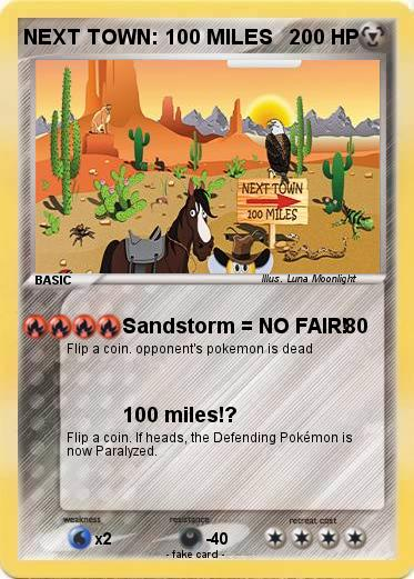Pokemon NEXT TOWN: 100 MILES