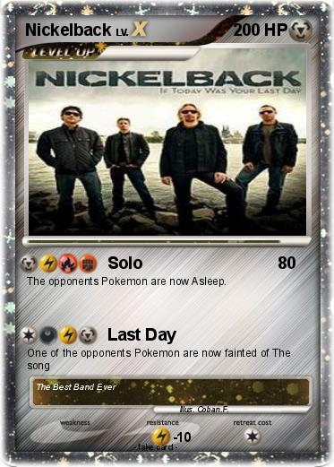 Pokemon Nickelback
