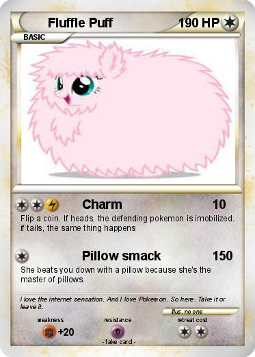 Pokemon Fluffle Puff