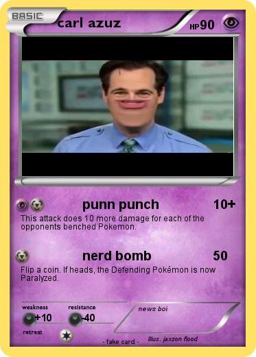 Pokemon carl azuz
