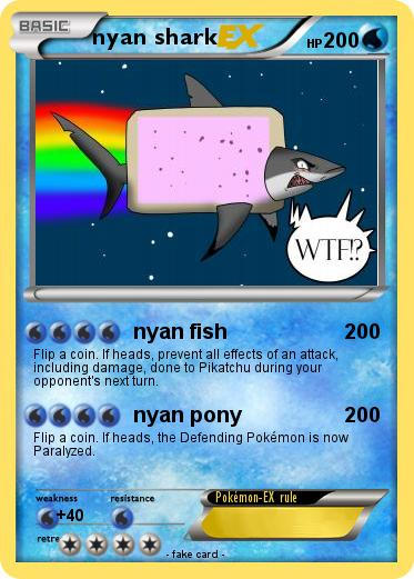 Pokemon nyan shark