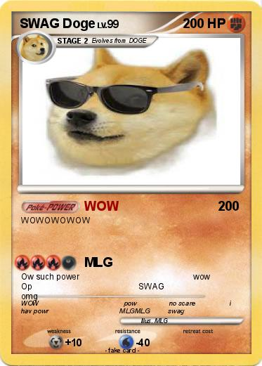 Pokemon SWAG Doge
