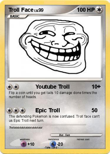 Pokemon Troll Face