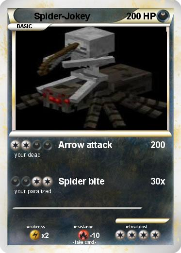 Pokemon Spider-Jokey