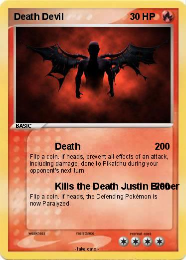 Pokemon Death Devil