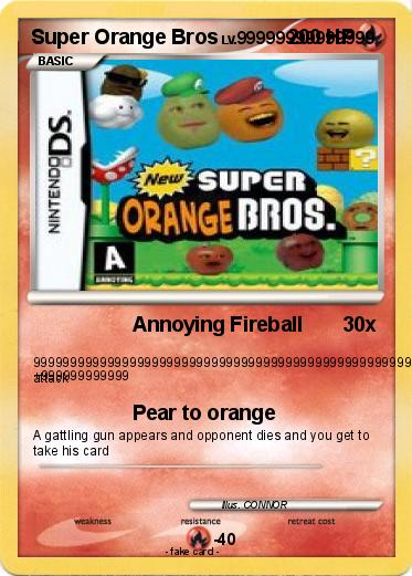 Pokemon Super Orange Bros