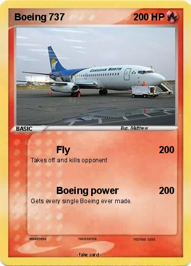 Pokemon Boeing 737