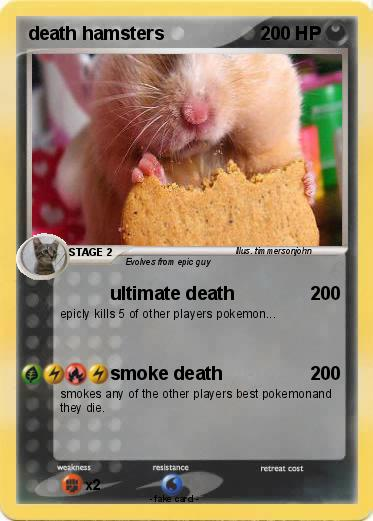 Pokemon death hamsters