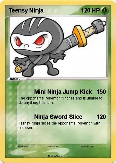 Pokemon Teensy Ninja