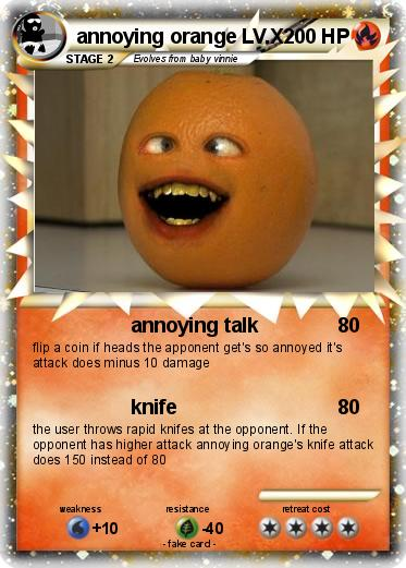 Pokemon annoying orange LV.X