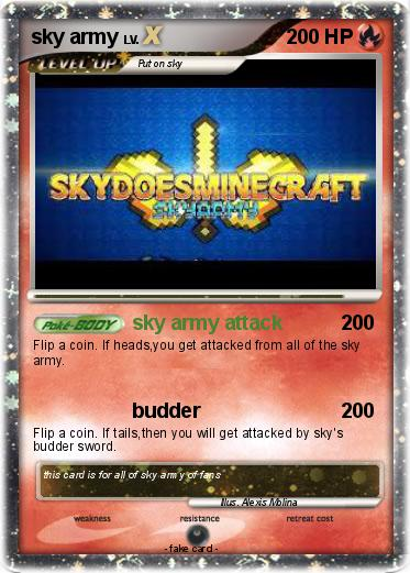 Pokemon sky army