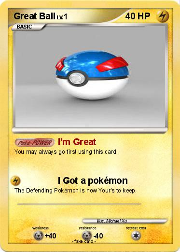 Pokemon Great Ball