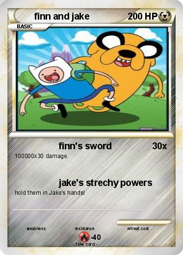 Pokemon finn and jake