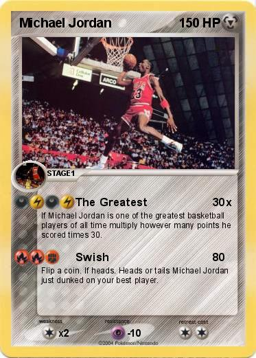 Pokemon Michael Jordan