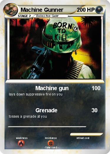Pokemon Machine Gunner