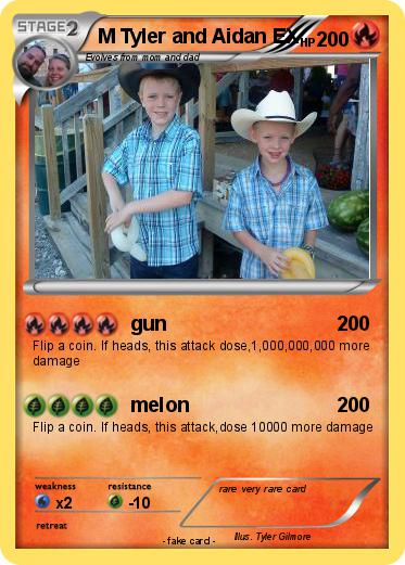 Pokemon M Tyler and Aidan EX