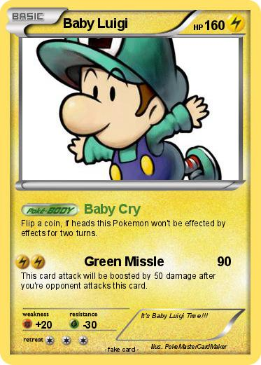 Pokemon Baby Luigi