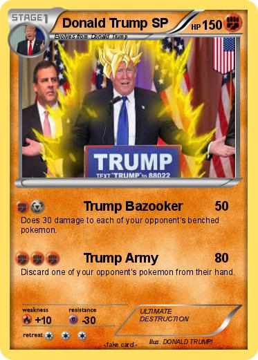 Pokemon Donald Trump SP