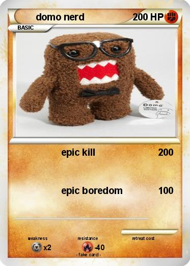 Pokemon domo nerd