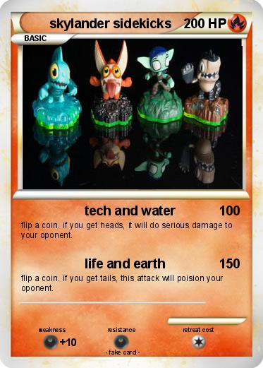 Pokemon skylander sidekicks