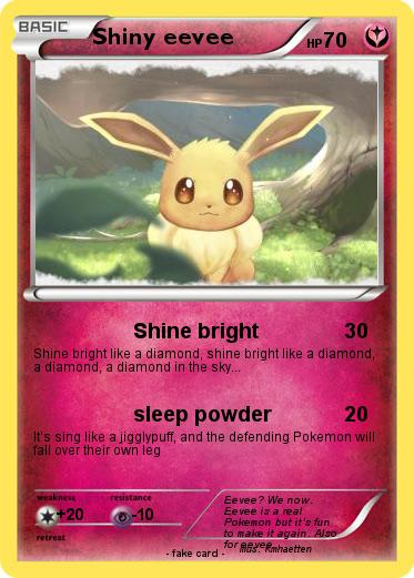Pokemon Shiny eevee