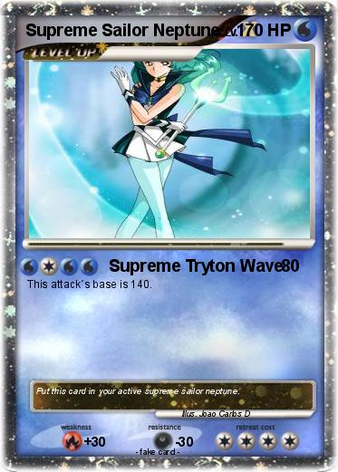 Pokemon Supreme Sailor Neptune