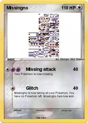 Pokemon Missingno