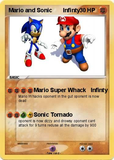 Pokemon Mario and Sonic       Infinty