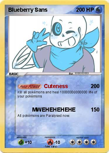 Pokemon Blueberry Sans