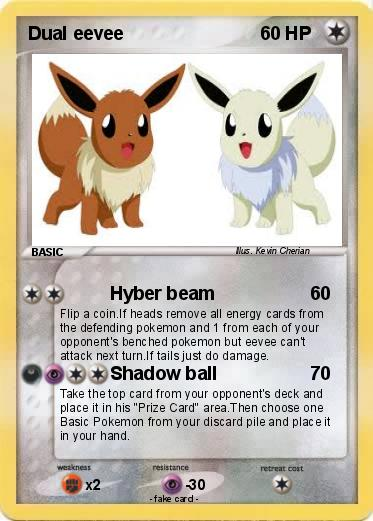 Pokemon Dual eevee